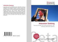 Buchcover von Attention Seeking