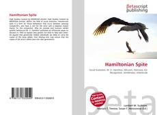 Bookcover of Hamiltonian Spite