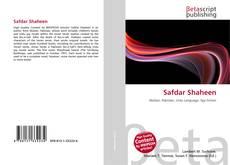 Bookcover of Safdar Shaheen