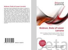 Copertina di Waleran, Duke of Lower Lorraine