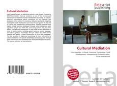 Bookcover of Cultural Mediation