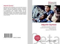 Capa do livro de Adjunkt (Syntax)