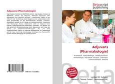 Обложка Adjuvans (Pharmakologie)