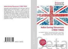 Buchcover von Adlai Ewing Stevenson (1900-1965)