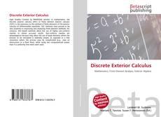 Portada del libro de Discrete Exterior Calculus
