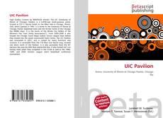 Capa do livro de UIC Pavilion