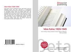 Capa do livro de Våre Falne 1939-1945