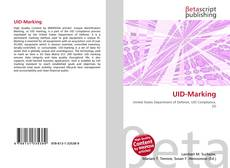 Bookcover of UID-Marking