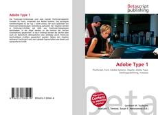 Couverture de Adobe Type 1