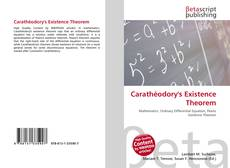 Bookcover of Carathéodory's Existence Theorem