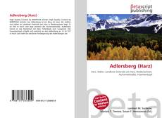 Bookcover of Adlersberg (Harz)
