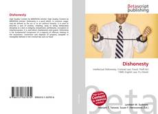 Bookcover of Dishonesty