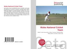 Обложка Wales National Cricket Team