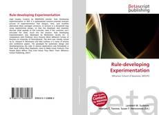 Borítókép a  Rule-developing Experimentation - hoz