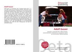 Adolf Gasser kitap kapağı