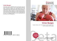Portada del libro de Víctor Burgos
