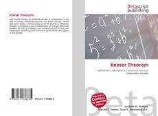 Bookcover of Kneser Theorem