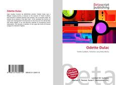 Bookcover of Odette Dulac