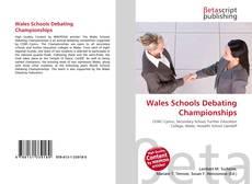 Обложка Wales Schools Debating Championships