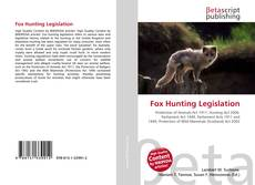 Buchcover von Fox Hunting Legislation