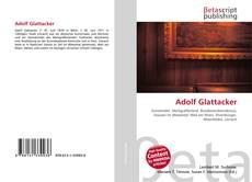 Bookcover of Adolf Glattacker