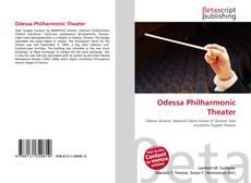 Portada del libro de Odessa Philharmonic Theater