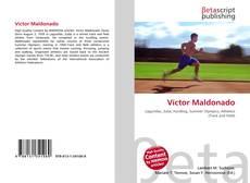 Portada del libro de Víctor Maldonado