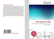 Bookcover of Yash Raj Films USA