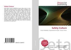 Copertina di Safety Culture