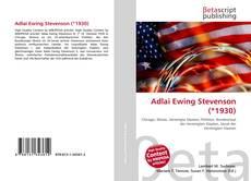 Buchcover von Adlai Ewing Stevenson (*1930)