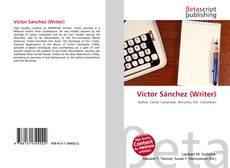 Buchcover von Víctor Sánchez (Writer)