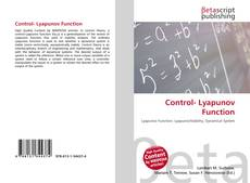 Bookcover of Control- Lyapunov Function