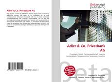 Adler & Co. Privatbank AG kitap kapağı