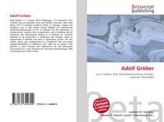 Capa do livro de Adolf Gröber