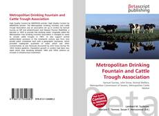 Bookcover of Metropolitan Drinking Fountain and Cattle Trough Association