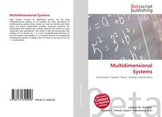 Bookcover of Multidimensional Systems