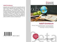Capa do livro de Adolf Grünbaum