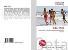 Bookcover of Adler (Ort)