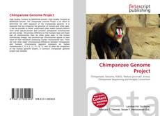 Обложка Chimpanzee Genome Project