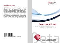Portada del libro de Snow Job (G.I. Joe)