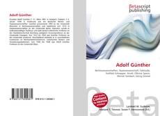 Adolf Günther kitap kapağı