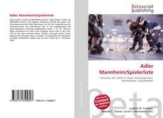 Обложка Adler Mannheim/Spielerliste