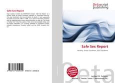 Safe Sex Report kitap kapağı