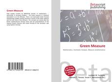 Bookcover of Green Measure