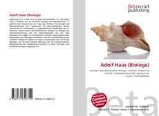 Borítókép a  Adolf Haas (Biologe) - hoz