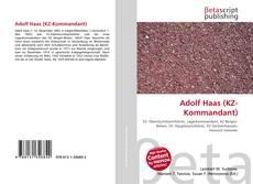 Copertina di Adolf Haas (KZ-Kommandant)