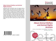 Capa do livro de About Animal Welfare and Animal Rights Activism