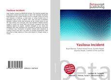 Bookcover of Yasilova Incident