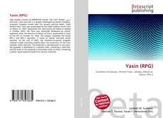 Yasin (RPG)的封面