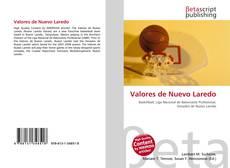 Capa do livro de Valores de Nuevo Laredo